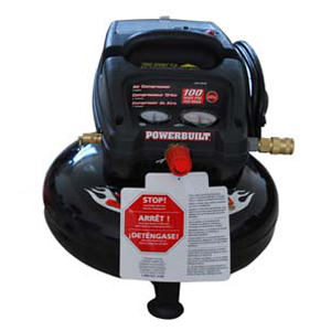 641248 3Gal Oil-Free Air Compressor
