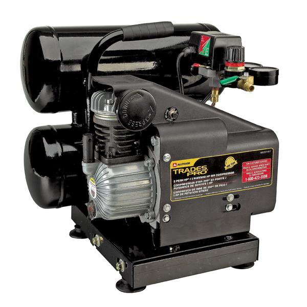 835446T 2HP 4Gal Twin Tank Air Compressor